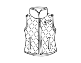 Waistcoat coloring page