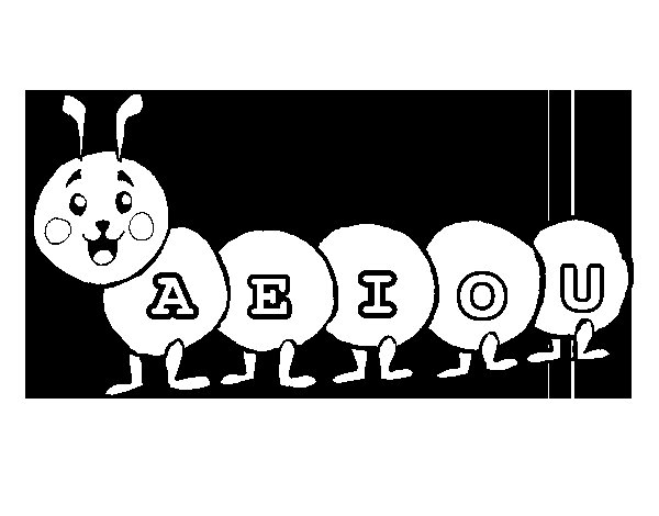 Free Coloring Pages Of Vowels