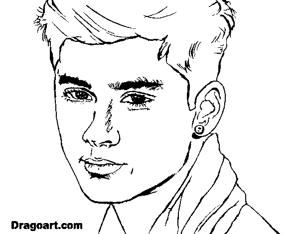 niall horan coloring pages to print