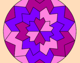 Coloring page Mandala 29 painted byvanessa a.