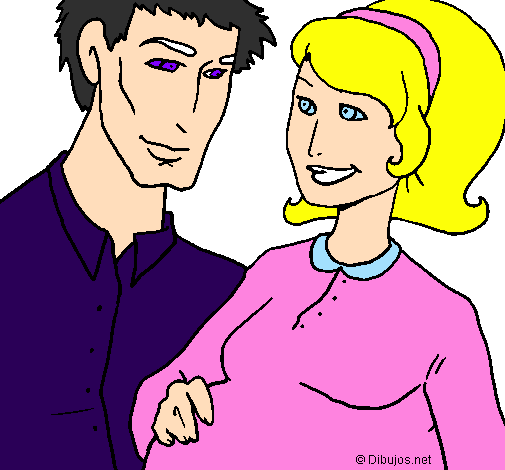 Paint and color drawings of Family by the users of Coloringcrewcom