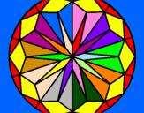 Coloring page Mandala 42 painted byRose