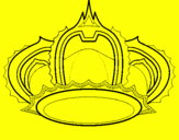 Coloring page Royal crown painted byAna