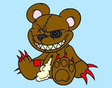 Coloring page Monstrous bear painted byAlexandria