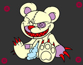 Coloring page Monstrous bear painted byCrystal