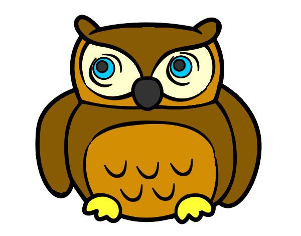 Owls Coloring Pages Coloringcrew Com