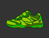 Coloring page Sneaker painted byBigricxi