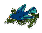 Coloring page Swallow painted byShebear