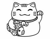 Maneki-neko abundance