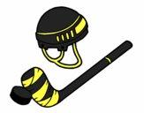 Material of hockey
