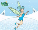 Coloring page Disney Fairies - Thinker Bell painted byKroll1122