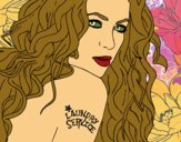 Coloring page Shakira - Laundry Service painted byDKAcrazy