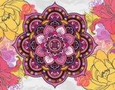 Mandala oriental flower