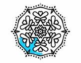 Symmetric mandala