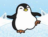Dancing penguin