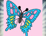 Coloring page Butterfly 2a painted byADAWEHI