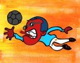 Goalkeeper halt