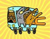 Bus rabbits