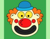 Coloring page Clown painted byKArenLee