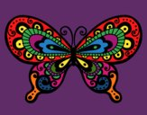 Coloring page Pretty Butterfly painted byKArenLee