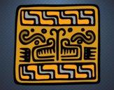 Maya inscription