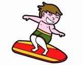 Man surf