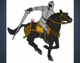 Knight on horseback IV