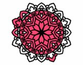 Coloring page Celtic mandala painted bymindy