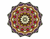 Mandala with stratum