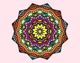 Mandala with stratum