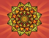 Coloring page Fruit mandala painted byPasserby42