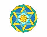 Coloring page Mandala 18 painted byPasserby42