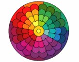 Coloring page Mandala 23 painted byPasserby42