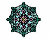 Coloring page Mandala cloud painted byPasserby42