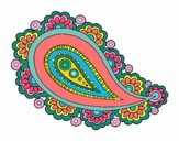 Coloring page Mandala teardrop painted byPasserby42