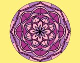 Coloring page Mandala 6 painted byAnia