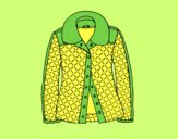 Coloring page A jacket painted byAnia
