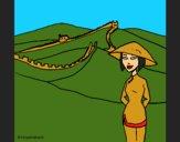 Coloring page China painted byCherokeeGl