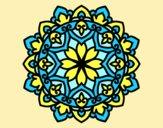 Coloring page Celtic mandala painted byAnia