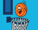 Ball and basket