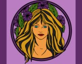 Coloring page Princess of the forest 2 painted byCherokeeGl