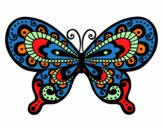 Coloring page Pretty Butterfly painted byKhaos