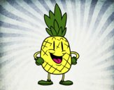 Animation pineapple