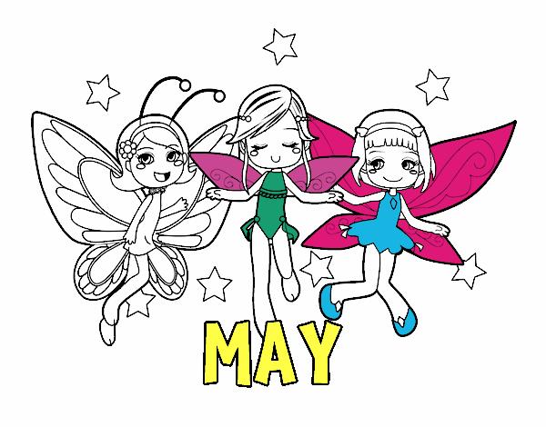 Coloring page May painted byAryanLove