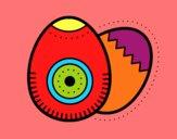 2 easter eggs