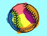 Ball of beisbol