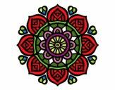 Mandala for mental concentration