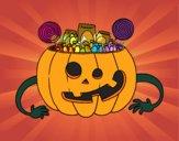 Halloween pumpkin sweets