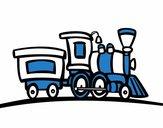 Train with wagon