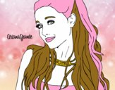 Ariana Grande with necklace
